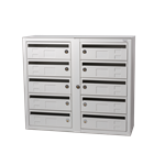 Kompakt 270 10 compartments D 25 mm mail slot