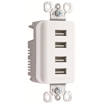 Decorator Quad USB Charger