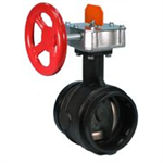 FireLock® Butterfly Valve, Supervised Open - Series 705