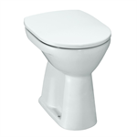 LAUFEN PRO Raised floorstanding WC, washout, horizontal outlet