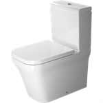 P3 Comforts Toilet close-coupled Duravit Rimless¨ 216709