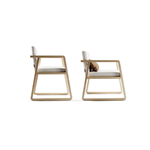 MIDORI CHAIR WITH WOODEN ARM 232.421