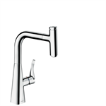 M7115-H240 Single lever kitchen mixer with pull-out spout 73802800
