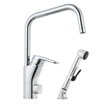 Siljan Kitchen Mixer with self-closing handshower and Dw-connector