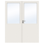 Interior Door Charisma D300 GW13 Double Unequal