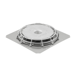 Geberit Pluvia roof outlet clamping ring series-8+ contact foil