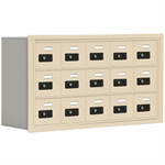 19000 Series Cell Phone Lockers-Recessed Mounted-3 Door High Units-8 Inch Deep Compartments