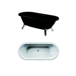 Free-standing Tub Duo - 1580x730