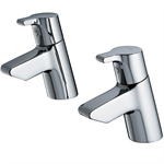 Active Bath Pillar Taps Lever Handles