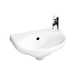 Small bathroom sink Nautic 5540 - for bolt mounting 40 cm