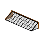 Lean-To Skylight – Glass