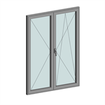 STRUGAL S53RP Window (Two-Leaf)