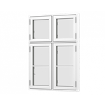 Formaplus Premium window 4 casement side opening