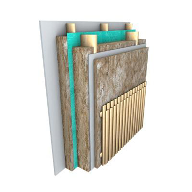 Knauf Insulation Exterior wall solutions