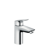 71100007 Logis Single lever basin mixer 100 with pop-up waste set CN