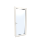 Windowdoor single UPVC-ALU Internorm KF410 1T