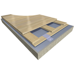 Action Aero NR - EN/DIN & FIBA Certified Anchored Resilient Floor System