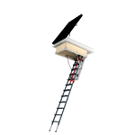 Flat roof access door DRL+LML loft ladder | FAKRO