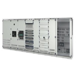 ALPHA 3200 LV distribution board - Single front - Complete set