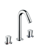 71133000 Logis 3-hole basin mixer with pop-up waste set