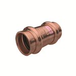 Press fittings for A/C and refrigeration, Coupling F/F, cu