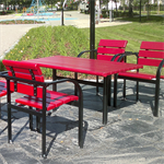 Kalmar, table rectangular