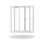 Tuscany® Series/ Montecito® Series Double Horizontal Sliding Window