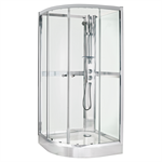 Shower cabin NACQ - chrome