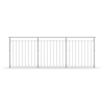 Sectional Railing childproof c/c 110 - Top Mounted