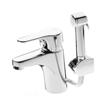 Bathroom sink faucet Nautic - with side spray