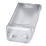 Katrin Resta Napkin Dispenser - Transparent/ Light Grey