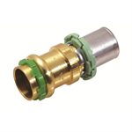 Adaptor copper (v-profile) - skin (th profile)