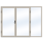 Steel Door SD4220 P50 Double-Right