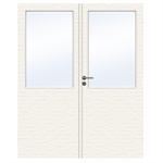 Interior Door Charisma D100 GW13 Double Unequal