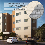 NATURA Monocouche decorative façade system (6 colors)