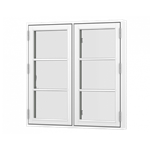 Forma Premium window double casement side opening