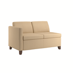Wieland Rally Compose Sofa with Embrace Arm, Available in Mid-Back Height