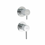 Cosmo Concealed single lever bath/shower mixer.