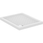 GEMMA 2 SHOWER TRAY 100X80 RECT. WHITE