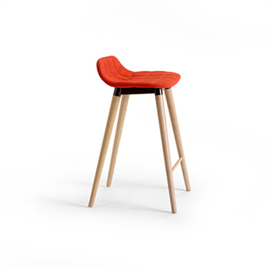 Bop Wood Bar Stool Offecct Free Bim Object For