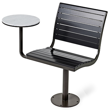 Marvelous Parco Swivel Chair With Table Top Nola Free Bim Object Inzonedesignstudio Interior Chair Design Inzonedesignstudiocom