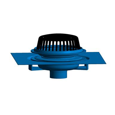 Z100 C Ea R 15 Quot Diameter Main Roof Drain With Underdeck