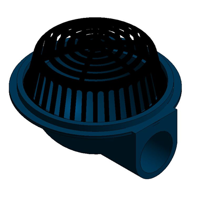 Z100 90 15 Quot Diameter Top Lateral Roof Drain Zurn
