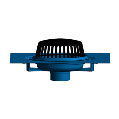 Z100 C R 15 Quot Diameter Main Roof Drain With Underdeck Clamp