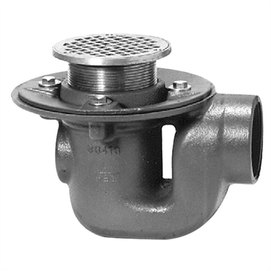 Z450 Drum Trap Drain With Quot Type B Quot Strainer Zurn