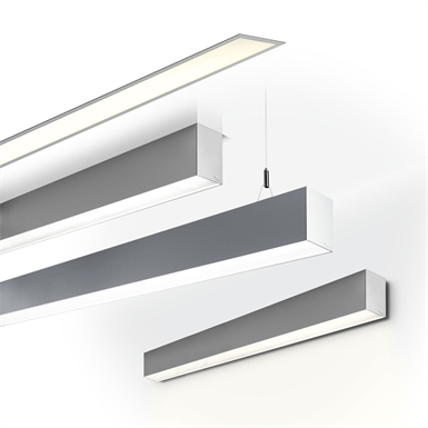Wall Mounted Light Revit : PURE 2 LED WALL MOUNTED 3000 K (planlicht) Free BIM object for ArchiCAD, Revit BIMobject