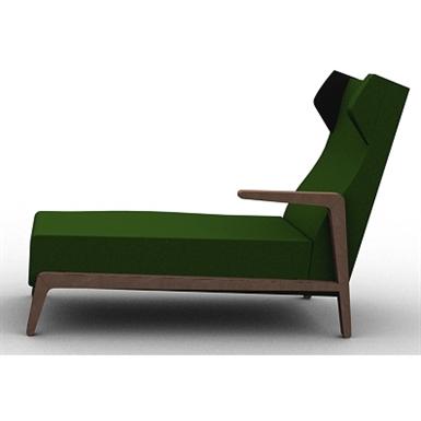 BOOMERANG CHILL CHAISE LONGUE RIGHT ARM 003.142.H.D (Sancal) | Free on chaise furniture, chaise recliner chair, chaise sofa sleeper,