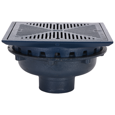 Z154 12 Quot Square Top Prom Deck Drain With Rotatable Frame