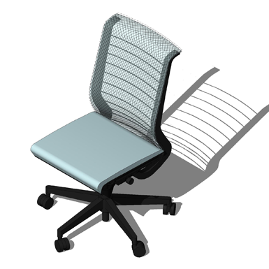 Think Office Chair Steelcase Free Bim Object For Revit