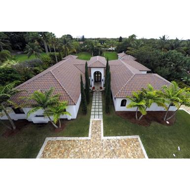 Spanish S Roof Tile Graphite Cer 225 Mica Verea Free Bim